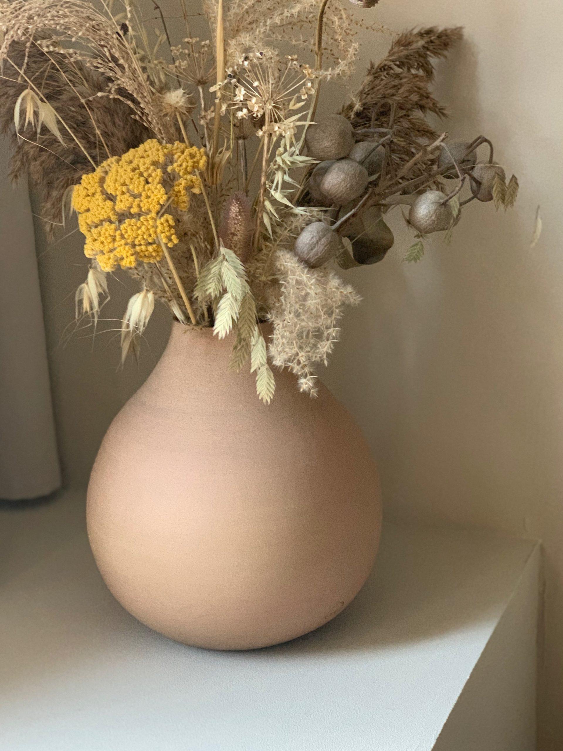 Autumnal bellied vase